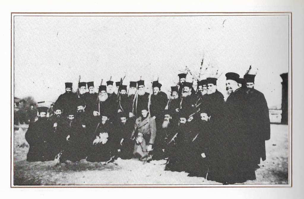 Παπάδες ένοπλοι παρακρατικοί, σε παραστρατιωτικά τάγματα θανάτου, ρασοφόρες μονάδες των ΜΑΥ Τρίκαλα-Γρεβενά, 1948.