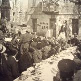 Μάιος 1944, Βίνιανη, Ο γερο-Τσεκούρας ψυχοπατέρας του Αρη Βελουχιώτη μιλάει για τις εκλογές του 1944.
