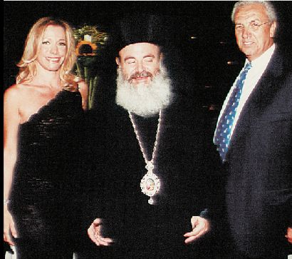 Χριστόδουλος, Μαριάννα Λάτση, Νίκος Κούρκουλος, Δημήτρης Κοντομηνάς στο Εκάλη Club (Ecali Club)