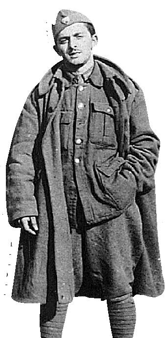Ο Λάκης Σάντας στον ΕΛΑΣ, το 1943 ή 1944