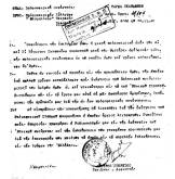Ο Διοικητής Γ' Τάγμα Σκαπανέων Ταγματάρχης Ντούρος Γεώργιος στέλνει επιστολή προς τον Ολυμπιακό ΣΦΠ για διεξαγωγή φιλικού αγώνα προς ενίσχυση του Ραδιοφωνικού Σταθμού Μακρονήσου, 20/11/1948.