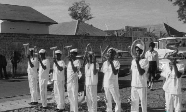 Εθνική υπερηφάνεια για τον δικτάτορα Παττακό, στα πέρατα της Αφρικής, 22/02/1972, Νιγηρία, Λάγκος