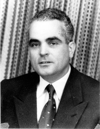 Γιάννης Ταμτάκος τη δεκαετία του 1950.