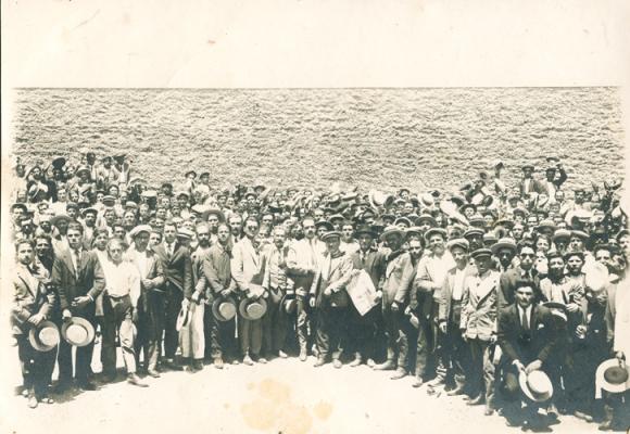Γενική Συνέλευση στο Μεταλλωρυχείον Λαυρίου, Ιούλιος 1926