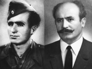 Ο Αργύρης Κοβάτσης τη δεκαετία του 1940 και ΄τη δεκαετία του 1990.