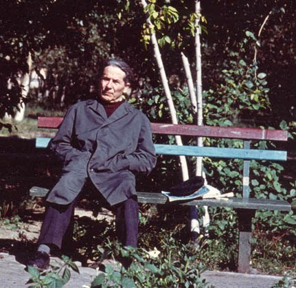 1971, στο Σοργκούτ της Σιβηρίας, την ημέρα που η κόρη του Όλγα τον επισκέφτηκε