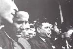 1945-xx-xx – Αθήνα – Ηγετικό στέλεχος της σοβιετικής εργατικής αριστοκρατίας μιλάει σε εργατική συγκέντρωση του ΚΚΕ στην Αθήνα, παρουσία του ΝίκουΖαχαριάδη