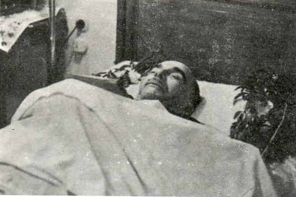 Ο δικτάτορας Ιωάννης Μεταξάς νεκρός.