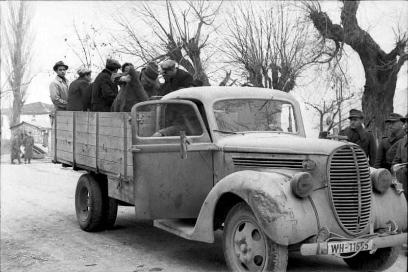 Από το Ολοκαύτωμα των Εβραίων της Ελλάδας, Ιωάννινα, 25 Μαρτίου 1944, όλη η σειρά των 19 φωτογραφιών (3/6)