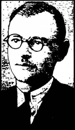 Φωτογραφία από το Ριζοσπάστη, 17/03/1931, ο Νίκος Πλουμπίδης ο δάσκαλος