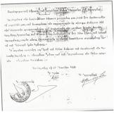 Φυλακές Κέρκυρας: Αρης Βελουχιώτης: Συμπληρωματική Δήλωση μετανοίας, 27/06/1939