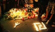 2013-11-03 Αθήνα Νέο Ηράκλειο - Τρισάγιο για Φουντούλης Καπελώνης - Μαίανδρος και ναζιστική Ρούνα - trisagio_foto.jpg