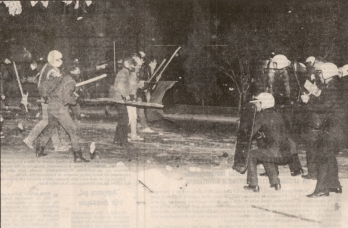 1984-12-04+05 - Επίσκεψη Λεπέν Κάραβελ - Συγκρούσεις με ΜΑΤ-07 - sygkrousis7