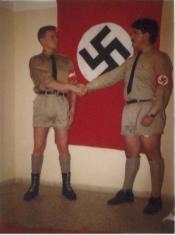 Χρήστος Παππάς + Περίανδρος με ναζιστική στολή - cf83ceaccf81cf89cf83ceb70137