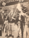 1987, διαδήλωση νεοναζί εθνικιστών Skinheads Oi.