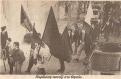 Δεκαετία 1980, παρέλαση νεοναζί Skinhead Oi στο Θησείο.