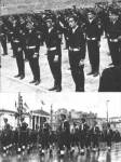 1969-09-ΣΕΠ – Αλκιμοι σε τελετή ορκωμοσίας (επάνω) + Αλκιμοι σε παρέλαση στην ΟδόΠανεπιστημίου