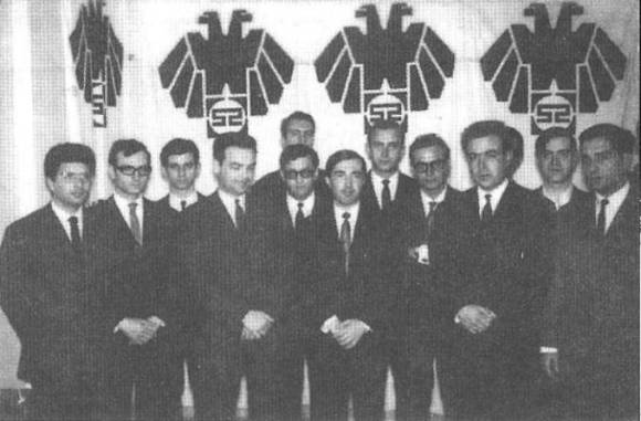 ~1966, Κόμμα 4ης Αυγούστου Κ4Α, ο Κώστας Πλεύρης και τα στελέχη του