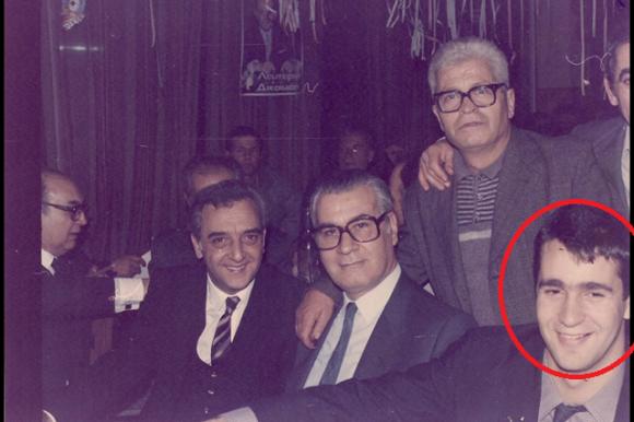Από τα ωραία χρόνια της ΕΠΕΝ: Ο Μάκης Βορίδης, ο Σπύρος Σταθόπουλος και ο ευρωβουλευτής της ΕΠΕΝ την περίοδο 1984-1988, Χρύσανθος Δημητριάδης στο ξενοδοχείο Caravel.