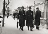 Θεσσαλονίκη, 1943, το γκέτο: Εβραίοι με κίτρινο αστέρι.