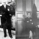Θεσσαλονίκη,1943: Ζευγάρι Εβραίων φωτογραφίζεται στο σπίτι του και στο γκέτο με το κίτρινο αστέρι. Τα ονόματά τους: Joseph και Rachel Hassid. Πέθαναν στο Αουσβιτς, μάλλον στις πρώτες αποστολές. Η κόρη τους Margot με τον άντρα της Henri Mallah κρύφτηκαν στην Αθήνα και σώθηκαν.