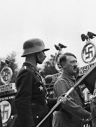 BlutFahne - Jakob Grimminger and Adolf Hitler - grimminger