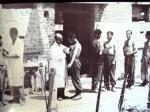 1944-07-27 – Κρύα Βρύση – Οι εθελοντές του συνταγματάρχη Πούλου – Eμβολιάζονται κατά της χολέρας και του τύφου – eee emvoliazontai aponazi