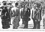 1944-10-12 – Σύνταγμα Αγνωστος Στρατιώτης – Αποχώρηση Γερμανών – Δήμαρχος Γεωργάτος + Γερμανικό απόσπασμα για κατάθεση στεφάνου – 10728788_10152789306665429_617520137_n