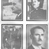 1944-xx-xx - Εξι υπουργοί στην κυβέρνηση Ιωάννη Ράλλη - Καραπάνος + Διαλέττης + Μπακογιάννης + Πειρουνάκης + Γρηγοράκης + Κανακουσάκης