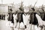 194x-xx-xx – Αθήνα – Ευζωνική φρουρά – Εύζωνοι Τσολιάδες σε παρέλαση – 02_research_eBay_athens_al01