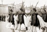 194x-xx-xx - Αθήνα - Ευζωνική φρουρά - Εύζωνοι Τσολιάδες σε παρέλαση - 02_research_eBay_athens_al01