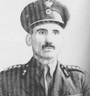 Διονύσιος Παπαδόγκωνας - Ανώτατος Διοικητής Ταγμάτων Ασφαλείας Πελοποννήσου