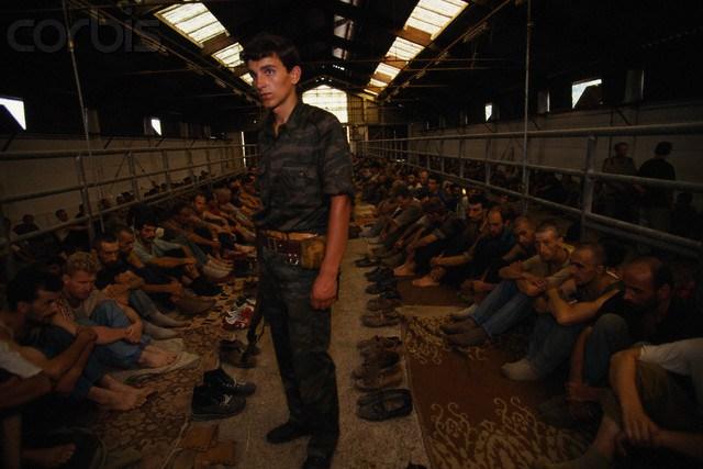 Στρατόπεδο συγκέντρωσης Μουσουλμάνων στη Manjaka κοντά στο Σαράγεβο daf770da486