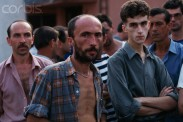 09 Aug 1992, Manjaca, Bosnia and Herzegovina --- Prisoners of War in Serbian Military Camp --- Image by © Patrick Robert/Sygma/Corbis