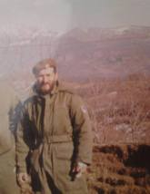Βοϊκοβίτσι, Βοσνία, Ιανουάριος 1995. Διακρίνεται ο Κυριάκος Καθάριος με κόκκινο μπερέ.
