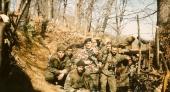 Μαγιεβίτσα Βοσνία, Απρίλιος 1995. Διακρίνονται οι Μήτκος Αντώνης, Βασιλειάδης Τρύφωνας, Μουρατίδης Γιώργος, Κώστας και άλλοι.