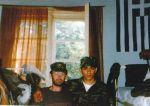1995-04-xx – Βοσνία Στρατόπεδο Ελλήνων εθελοντών ΕΕΦ – Νικολαΐδης Νίκος + Μουρατίδης Γιώργος – Σε σερβοβοσνιακόστρατόπεδο