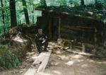 1995-xx-xx – Βοσνία – Ελληνική Εθελοντική Φρουρά ΕΕΦ – Δημητρίου Χρήστος + Σε φυλάκιοκαλύβα