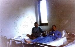 Βοσνία, 1995. Διακρίνονται δύο τραυματίες σε νοσοκομείο στο Milici.