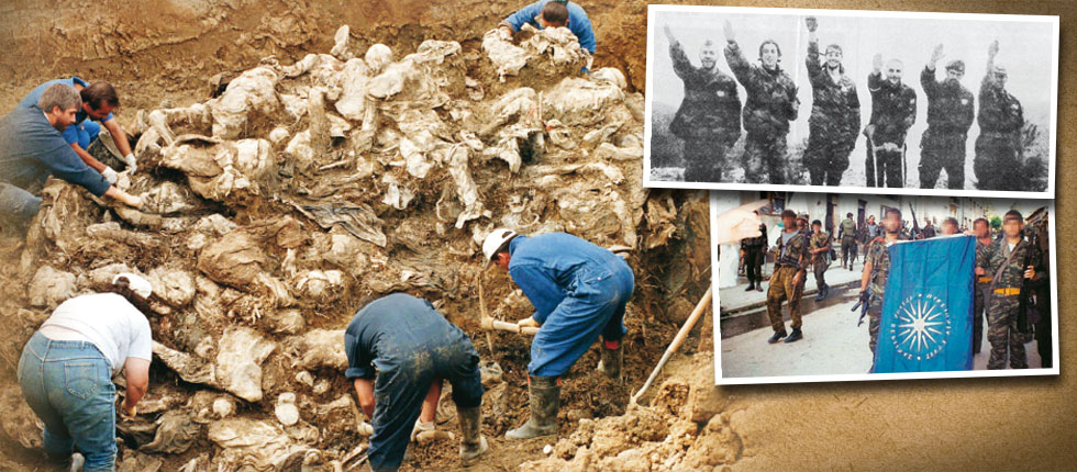 ΕΓΚΛΗΜΑ ΠΟΛΕΜΟΥ ΜΕ ΤΗ «ΣΦΡΑΓΙΔΑ» ΤΗΣ ΧΡΥΣΗΣ ΑΥΓΗΣ, Τα ελληνικά τάγματα εφόδου που μάτωσαν τη Σρεμπρένιτσα