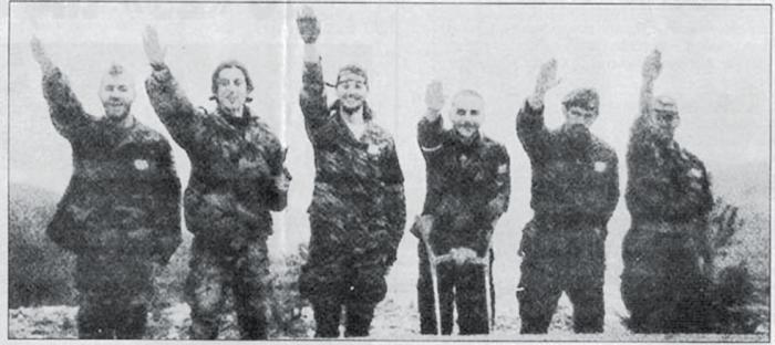Οι περισσότεροι Ελληνες εθελοντές ήταν εθνικιστές-εθνικοσοσιαλιστές. Ανάμεσά τους και πρωτοκλασάτα -τότε- μέλη της Χρυσής Αυγής.