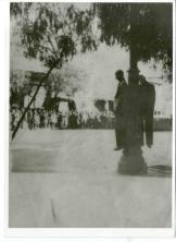 1943-01-ΙΑΝ-Τρίπολη - Απαγχονισμός αντιστασιακών στην Πλατεία