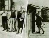 Τάγματα Ασφαλείας και συλληφθέντες στο μπλόκο της Καλογρέζας, 15/03/1944. Δημοσιεύτηκε πρώτη φορά το 1946 στο λεύκωμα «Για σένα Ελλάδα» που εκδόθηκε στα πέντε χρόνια του ΕΑΜ.