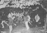 1980-11-16 Αθήνα Ανθοπωλεία - Διαδηλωτές οπλισμένοι αντιμετωπίζουν τα ΜΑΤ
