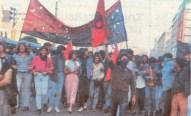 1985-05-09 - Χημείο Πρώτη κατάληψη μετά την απαγόρευση συγκέντρωσης διαμαρτυρίας στην πλατεία για επιχειρήσεις αρετής-12 - megali poreia