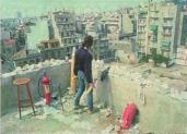 1985-05-09 - Χημείο Πρώτη κατάληψη μετά την απαγόρευση συγκέντρωσης διαμαρτυρίας στην πλατεία για επιχειρήσεις αρετής-06 - oxirosi