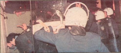 1985-11-17+18 - Χημείο Δεύτερη κατάληψη για φόνο Καλτεζά + Επέμβαση ΜΑΤ-23 - sylifsi