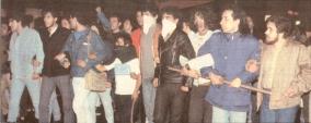 1985-11-17+18 - Χημείο Δεύτερη κατάληψη για φόνο Καλτεζά + Επέμβαση ΜΑΤ-25 - poreia