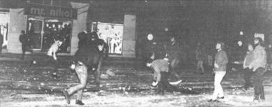 1985-11-17+18 - Χημείο Δεύτερη κατάληψη για φόνο Καλτεζά + Επέμβαση ΜΑΤ-38 - koukouloforoi