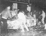 1985-11-17+18 - Χημείο Δεύτερη κατάληψη για φόνο Καλτεζά + Επέμβαση ΜΑΤ-46 - kameno amaxi